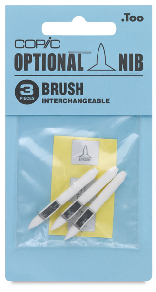 Original Replacement Nibs, Set of 3, Brush