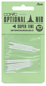 Original Replacement Nibs, Set of 10, Super Fine