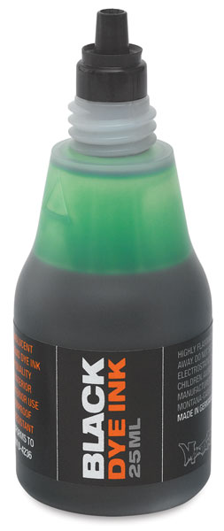 Dye Ink Refill, Green, 25 ml