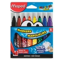 Maped Color'Peps Broad Tip Maxi Ultrawashable Markers