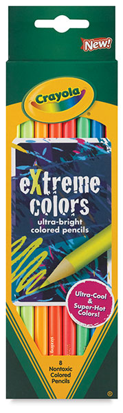 Extreme Colors Colored Pencils
