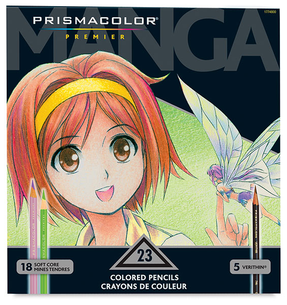 Manga Pencil Set