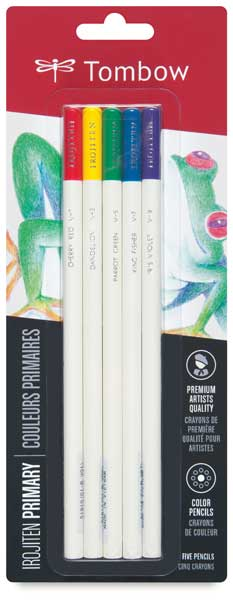 Colored Pencil Set of 5, Primary