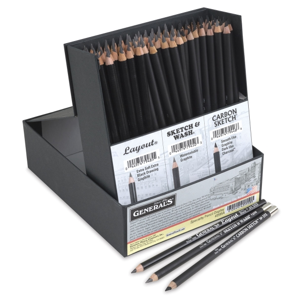 Specialty Drawing Pencils, Classroom Pack of 108
