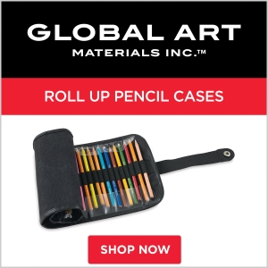Global Art Roll Up Pencil Cases