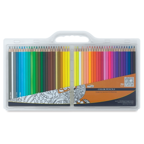 Color Pencil Set, Set of 50