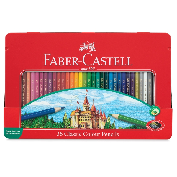 Classic Color Pencil Set of 36