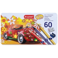 Super Sixties Beetle Tin, Set of 60