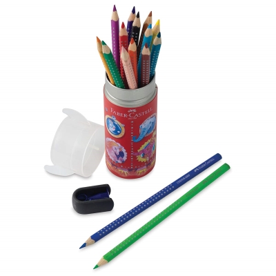 Grip Watercolor EcoPencil Rocket Ship