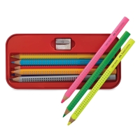 Jumbo Grip Pencil Tin