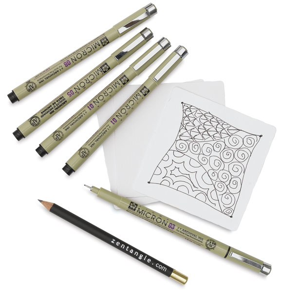 Zentangle Set, Set of 11