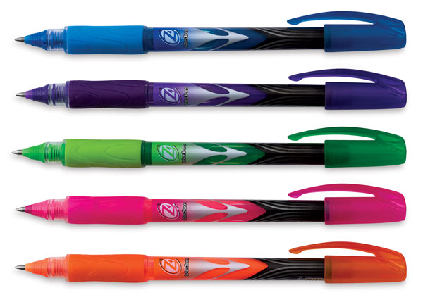 Z4+ Fashion Roller Pen, Set of 5