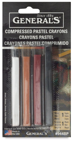 Sketching Colors, Pkg of 4
