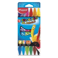 Maped Color'Peps Triangular Oil Pastels