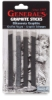 Assorted Graphite Sticks, Pkg of 4