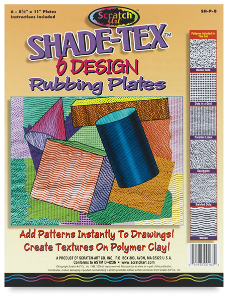 Shade-Tex Shading/Texture Plates, Set of 6