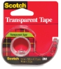 "Transparent Tape, ¾"" W"
