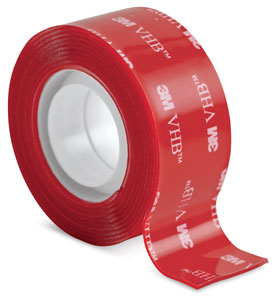 Clear Permanent Mounting Tape