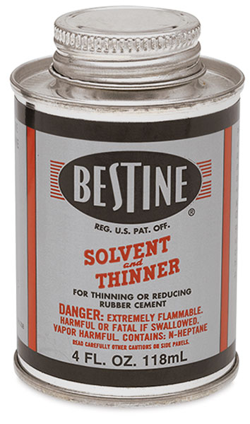 Bestine Solvent And Thinner Blick Art Materials