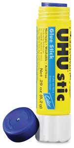 Color Glue Stick, 0.29 oz