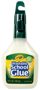 Washable No-Run School Glue