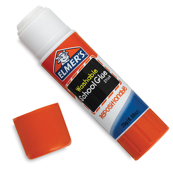 Washable Repositionable Glue Stick