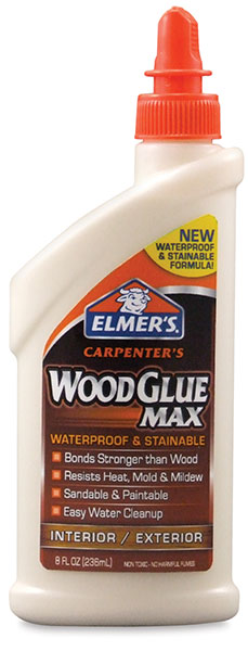 Stainable Wood Glue, 8 oz
