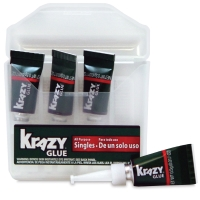 Krazy Glue All Purpose Single-Use Tubes, Pkg of 4