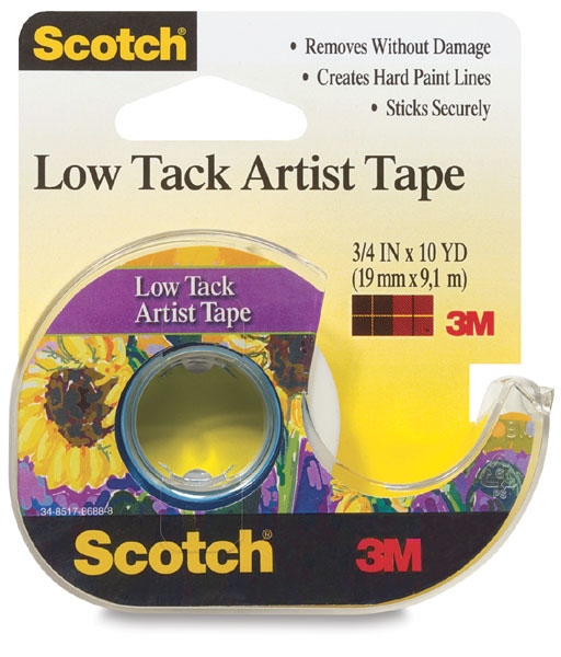 Low Tack Artist Tape