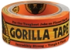 "Gorilla Tape, Black, 2"" × 12 yd Roll"