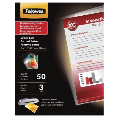 ImageLast Thermal Laminating Pouches, Pkg of 50