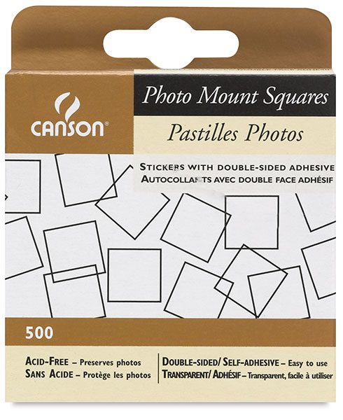 Photo Mount Squares, Pkg of 500