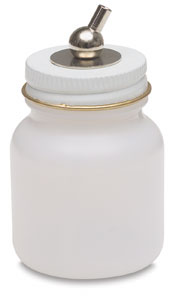 Plastic Bottle (complete assembly), 3 oz