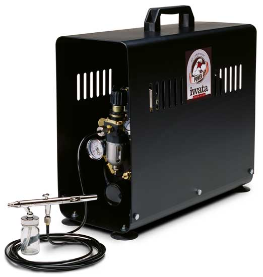 Power Jet Studio Compressor (Airbrush Sold Separately)