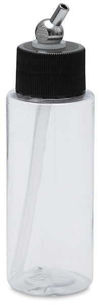 Crystal Clear Cylinder Bottle