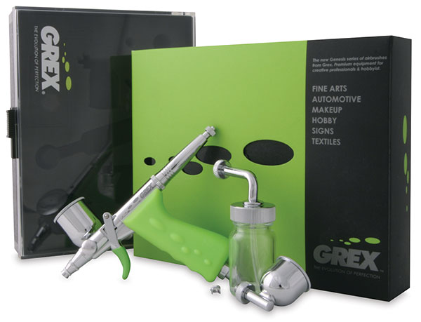 Tritium TS Airbrush Set, 0.3 mm nozzle