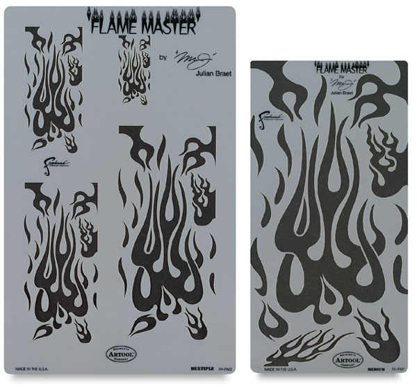 Flame Master Complete Template