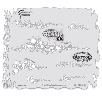 Bubble FX Freehand Template B