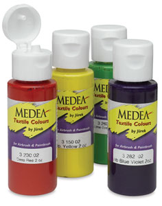 medea airbrush textile colors blick art materials