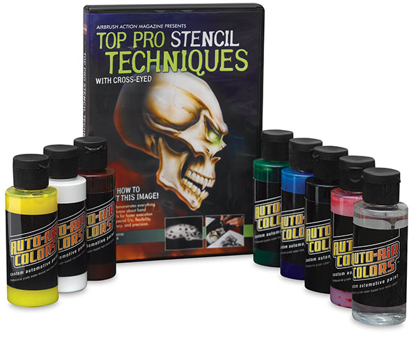 Top Pro Stencil Techniques Set