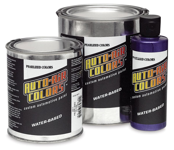 Auto Air Pearlized Colors