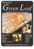 Green Decorative Leaf, 6 Sheets