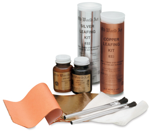 Leafing Kits, available in Silver or Copper