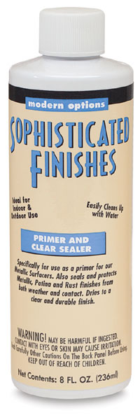 Primer and Clear Sealer