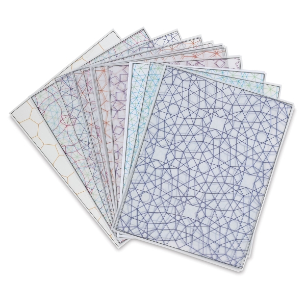 Tessellations Design Paper, Pkg of 24 Sheets