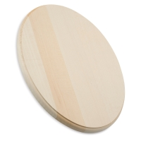 Basswood Plaque, Oval