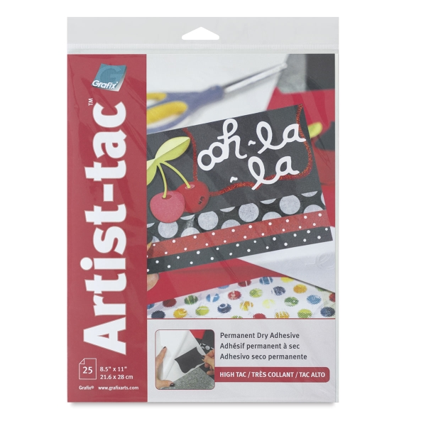 Artist-tac, Pkg of 25 Sheets