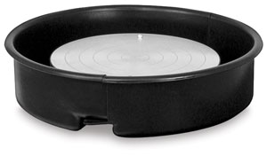 Plastic Splash Pan, Black