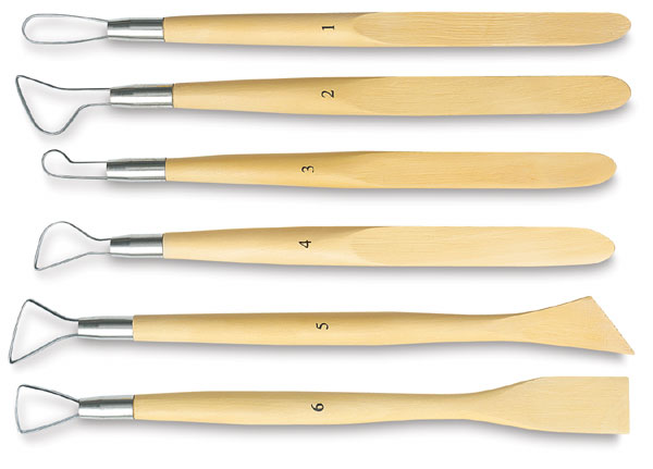 Set of 6 Ribbon Tools
