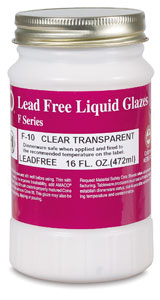 Clear Transparent Glaze, Pint Jar